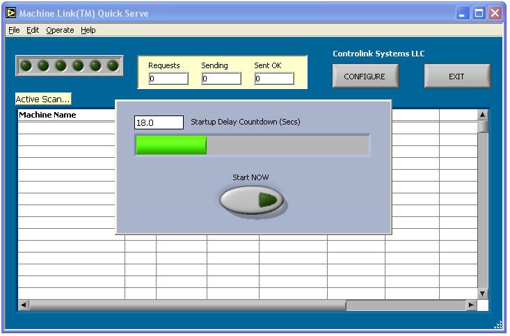 Machine Link Quick Serve